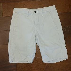 Rag and Bone Stone Cotton Slim Fit Short 28
